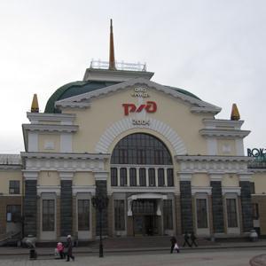 Железнодорожные вокзалы Сосногорска